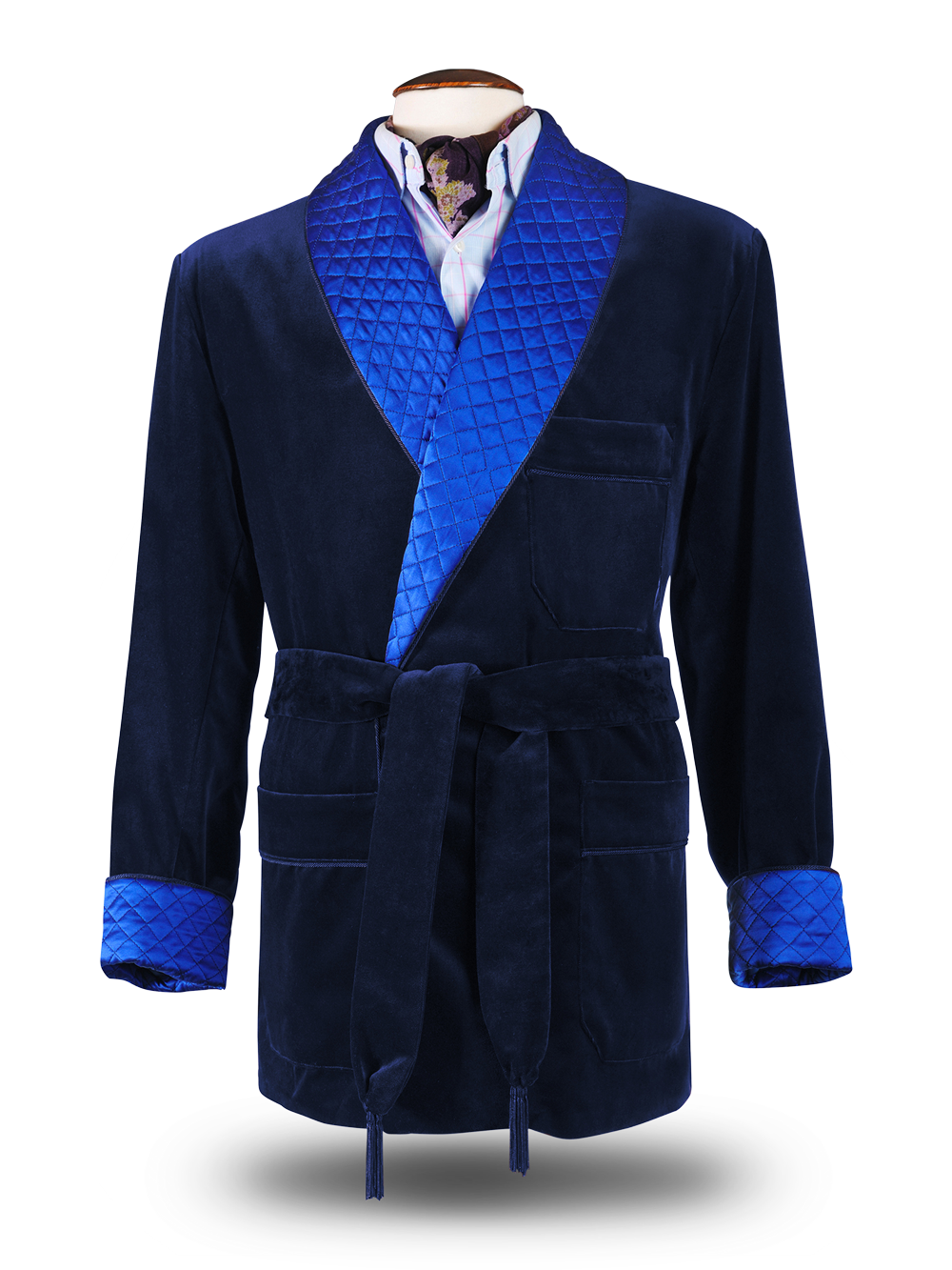 Dressing Gown Bleu Nuit