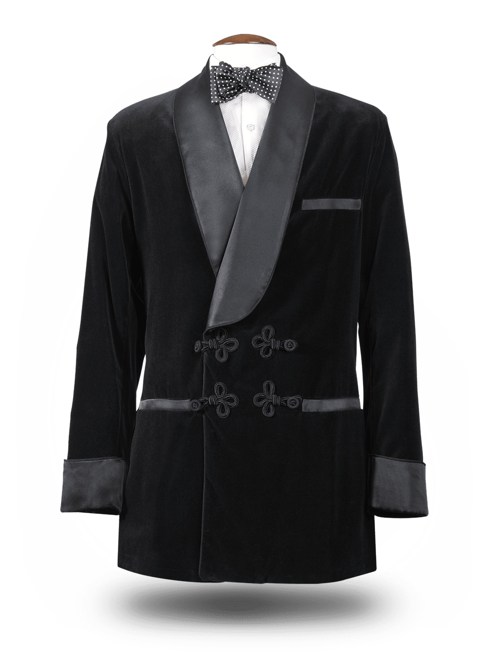 Smoking Jacket Noir charbon