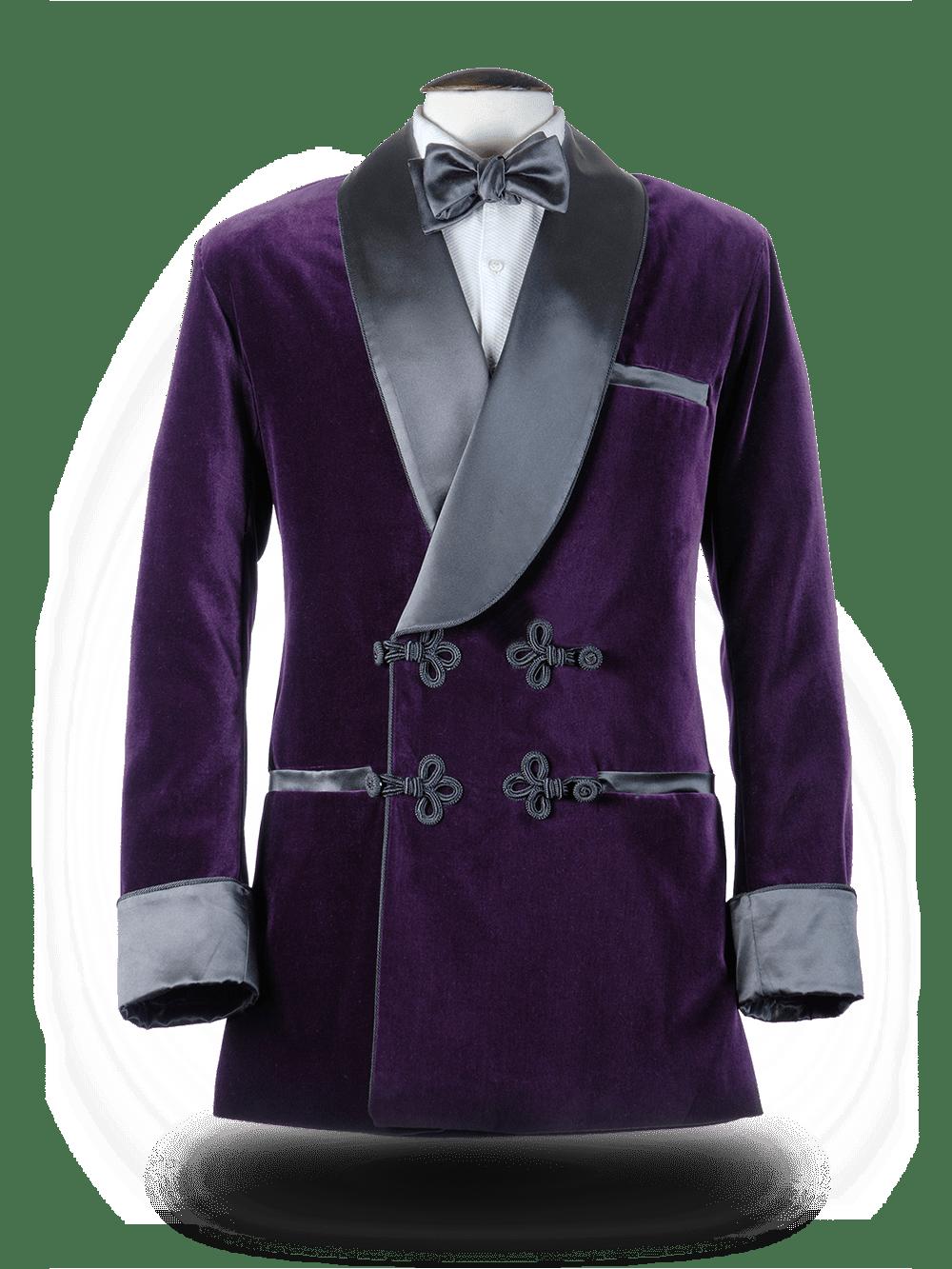 Smoking Jacket Violet byzantin